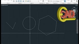 Learning Autocad 2013 Tutorial 3: Introduction To Drawing