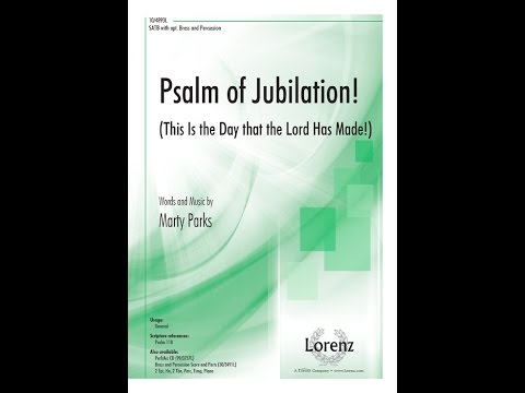 Psalm of Jubilation! - Marty Parks