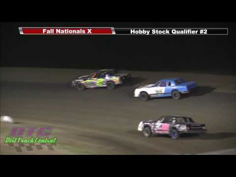 IMCA Hobby Stock Qualifiers Fall Nationals RPM Speedway 10 7 16