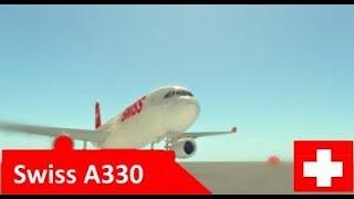 Vol ROBLOX -:- A330 suisse -:- #SWISS!