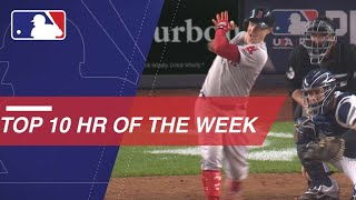 MLB Network's top 10 home runs of the week