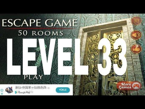 Escape game : 50 rooms 1 Level 33 Walkthrough ~ Doors Geek