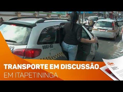 Transporte em Itapetininga em discussão - TV SOROCABA/SBT