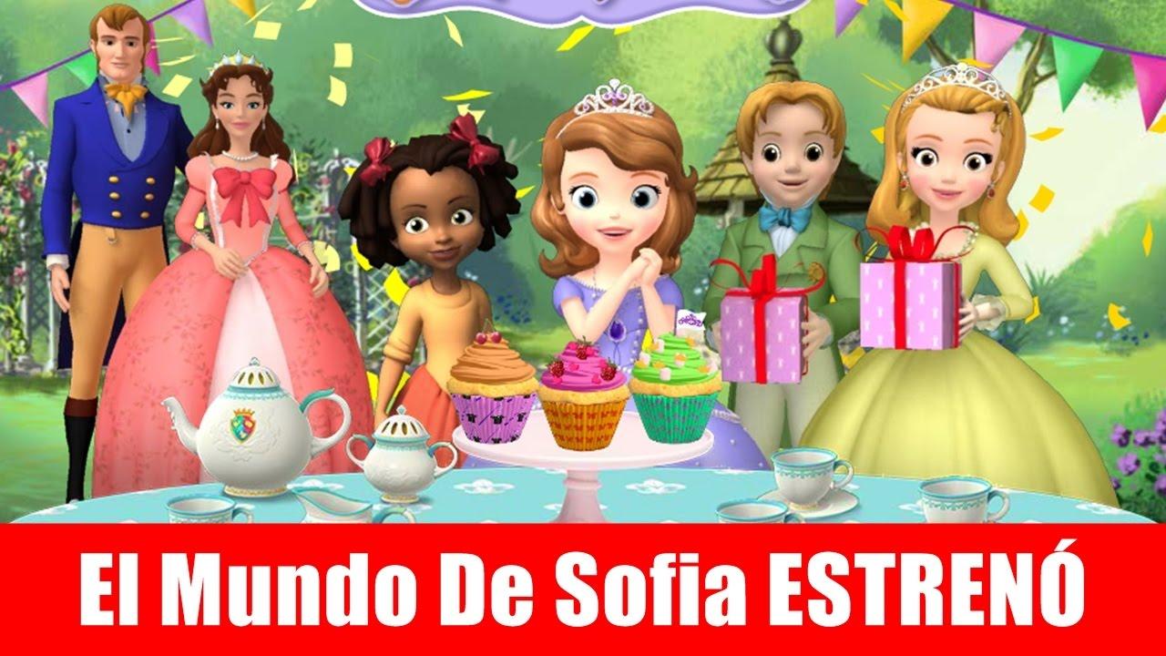Princesita Sofia Fiesta De Pastelitos Disney Junior Youtube
