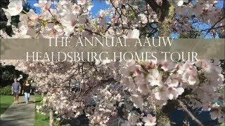 Healdsburg AAUW Homes Tour
