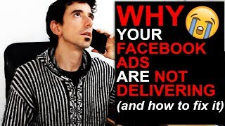 WHY MY FACEBOOK ADS ARE NOT DELIVERING? 😭 - Hernan Vazquez