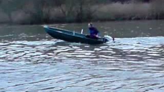 vincent et bateau moteur