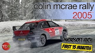 Colin McRae Rally 2005 - Microsoft Xbox 60fps (First 15 Minutes) Ep. 7