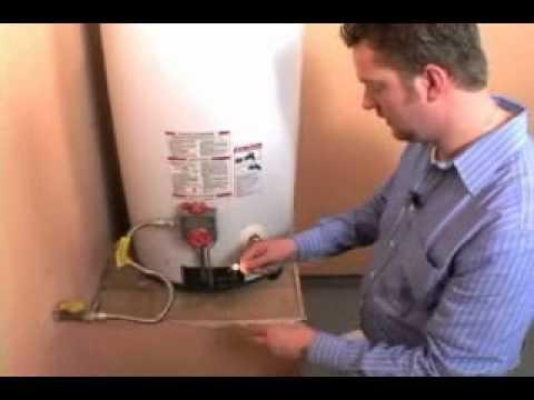 How to Relight a WaterHeater Pilot Light  YouTube