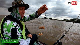 Рыбалка в плохую погоду На каяке перед грозой