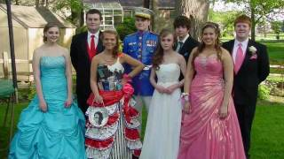 DUCK brand Duct Tape PROM dress(Elkhart,Indiana)Kayla Sawyer, David Thrash 2011