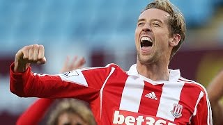 Peter Crouch ● Best Goals ● Barclays Premier League ● England team