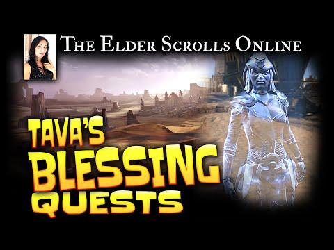 Elder Scrolls Online: Quests - Tava's Blessing