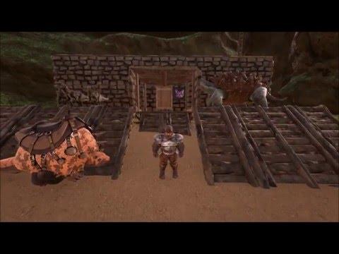 "Ark: Survival Evolved på Norsk! Episode 10 ""Mammut og unødig c-spin!"" Med Zero!"