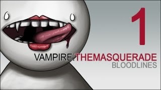 Cry Plays: Vampire: The Masquerade - Bloodlines [P1]
