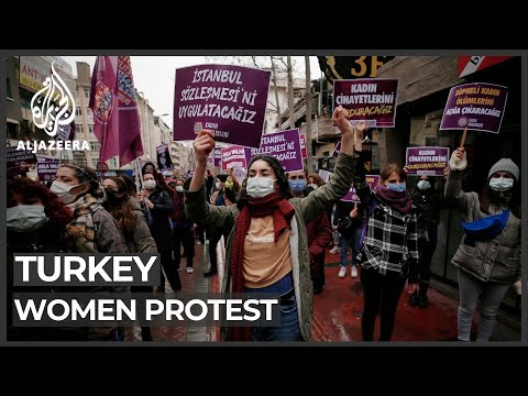 Anger, Condemnation After Turkey Exits Treaty To Protect Women