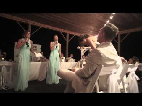 Most Fun and Epic Maid of Honor Sister Song/Dance/Speech for Jess & Joe