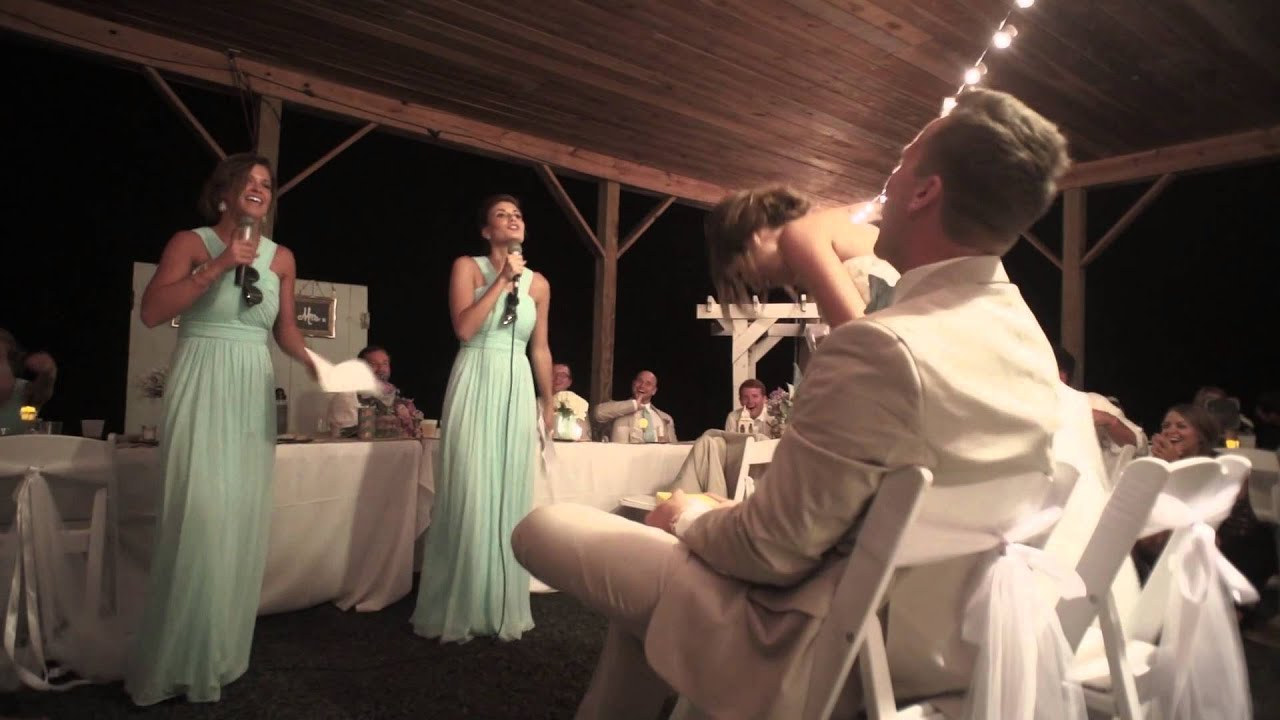 Most Fun And Epic Maid Of Honor Sister Song Dance Speech For Jess Joe