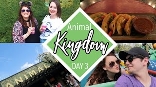 Friends, Food, & Animals at Disney's Animal Kingdom| Spring 2018 Disney Vlogs