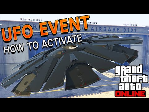 UFO In GTA 5 Online! | How To Activate The UFO Event