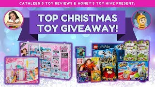 Top Christmas Toy Giveaway by Cathleen's Toy Reviews + Honey's Toy Hive!