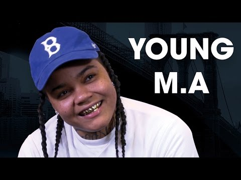 Young M.A. Talks First Time At Barclays, ...