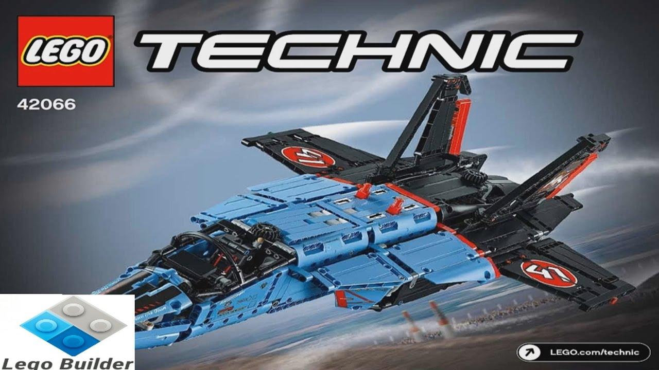 2017 lego technic air race jet instruction 42066 youtube. Black Bedroom Furniture Sets. Home Design Ideas