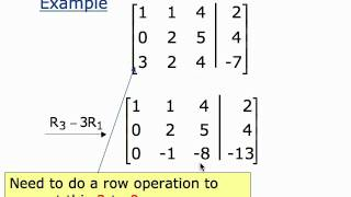 Solving Systems of Equations Using Matrices (movie 1.3)