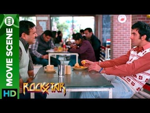 Rockstar | Food is more importent than Love | Ranbir Kapoor & Kumud Mishra