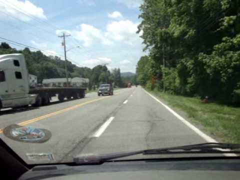Allens Charity Bike Ride-Day 42 From Catawba to Troutville, VA & Friends We Met Part 2 of 2.wmv