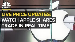 LIVE: Watch Apple shares trade in real-time — Jan. 3, 2019