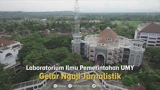 Laboratorium Ilmu Pemerintahan UMY Gelar Ngaji Jurnalistik