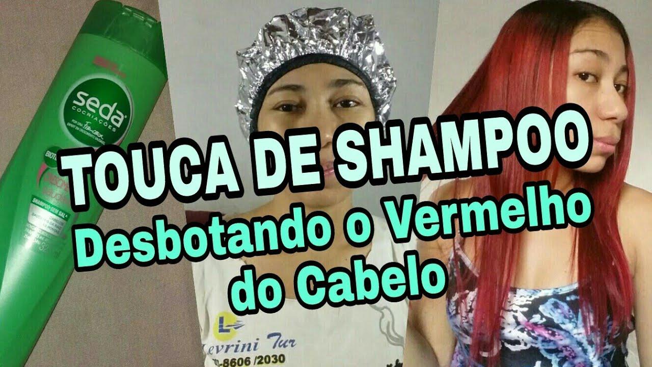 Download TOUCA DE SHAMPOO: Desbotando a tintura do Cabelo 1°vídeo Saga Tirando o Vermelho do Cabelo 😉