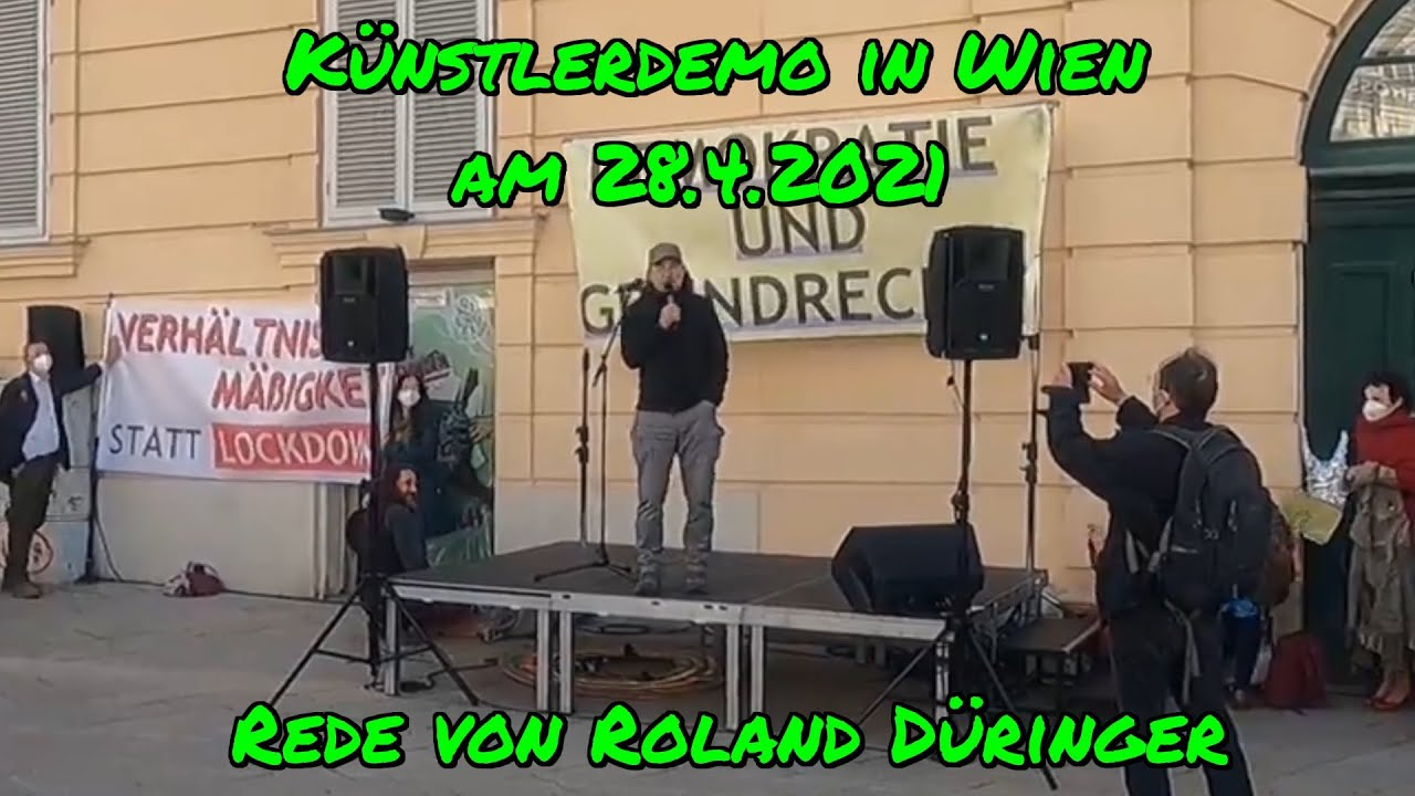 KUNDGEBUNG am 28. April 2021 - Rede von Roland Düringer