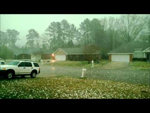 Hail Storm, Pearl Mississippi
