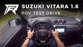 2017 Suzuki Vitara 1.6 - POV Test Drive (no talking, pure driving)