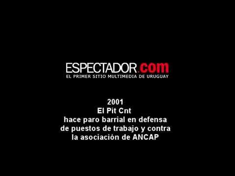 La Tertulia 2001 PitCnt hace paros en defensa de Ancap En Perspectiva
