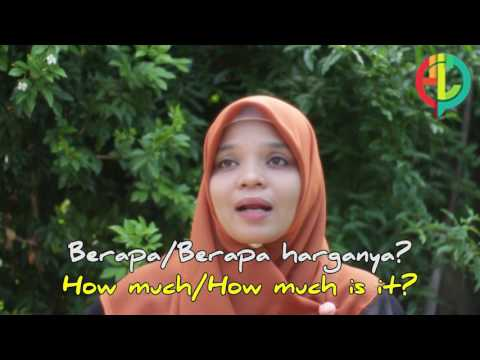 Learning Bahasa Indonesia || In The Market
