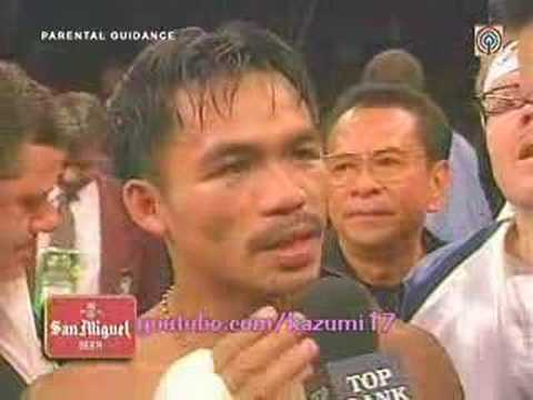 Interview Manny Pacquiao vs. Manny Poohcquiao