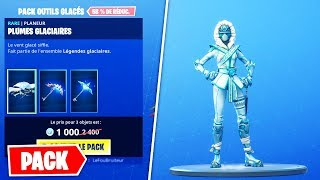 "Nova SKIN ""Kuno ' ichi OF FROID""-PACK GLACES OUTILS (Fortnite Battle Royale)"