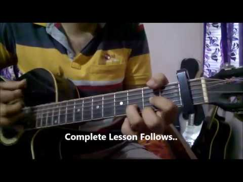 Afreen Afreen Guitar Lesson | Coke Studio | Rahat Fateh Ali Khan - Momina