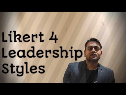 Likert Management Style System/Likert 4 Leadership Syles