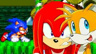 СОНИК.EXE - ТЕЙЛЗ И НАКЛЗ ВЫЖИЛИ ! - Sonic.Exe: The Spirits Of Hell [Tails And Knuckles]