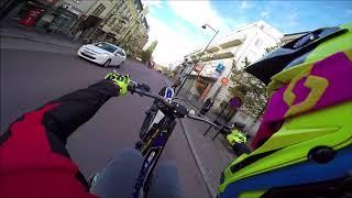 Trial Trip In The City!   Urban Trial Wheelies