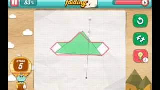 let's fold Lets Fold origami level 5  Walkthrough