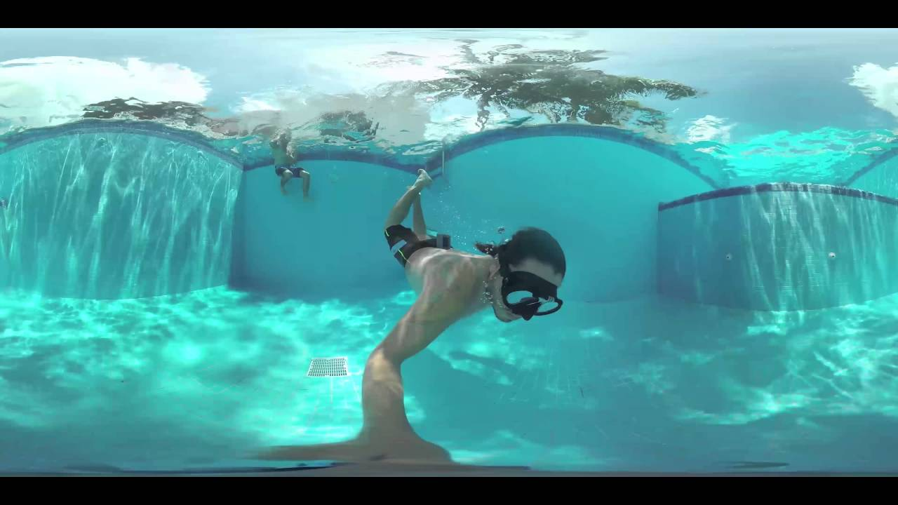 Bajo el agua en 360 grados youtube Imagenes de hoteles bajo el agua
