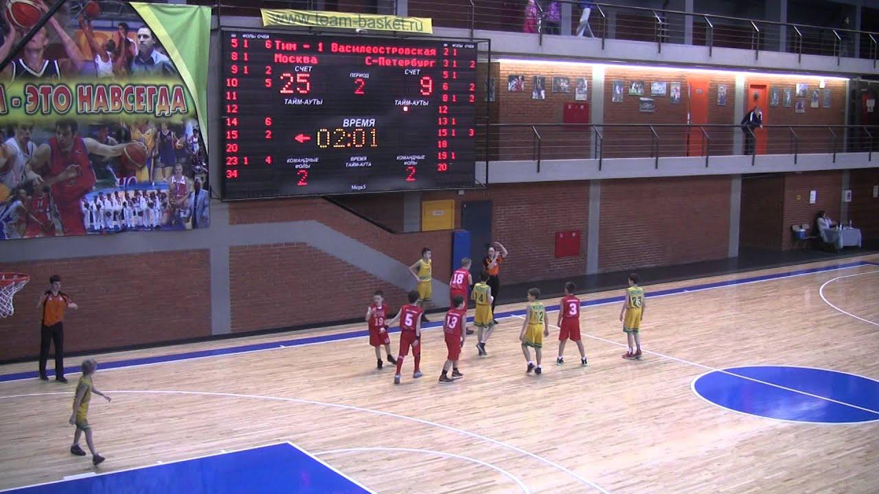 Баскетбольный центр тимирязевская москва