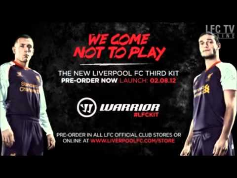 50df84561e9 New Liverpool FC Third Kit and Third Training Kit 2012 13 (OFFICIAL) -  YouTube
