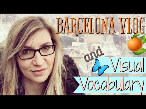 Interactive English in Barcelona | VLOG and VOCABULARY