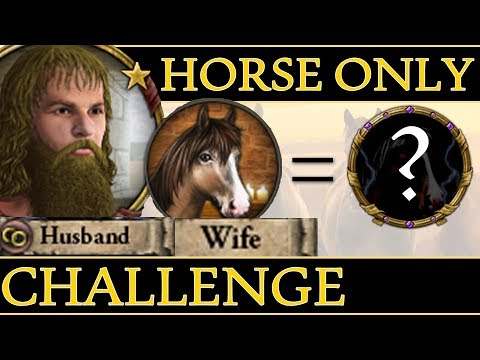 Crusader Kings 2 Horse Only Challenge  